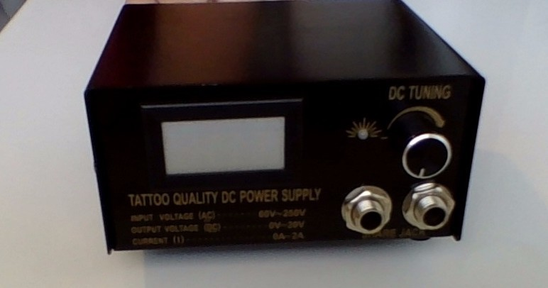 What should my tattoo power supply settings be for Best tattoo power supply